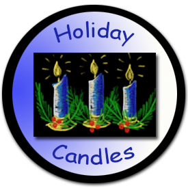 Learn how to draw Holiday Candles