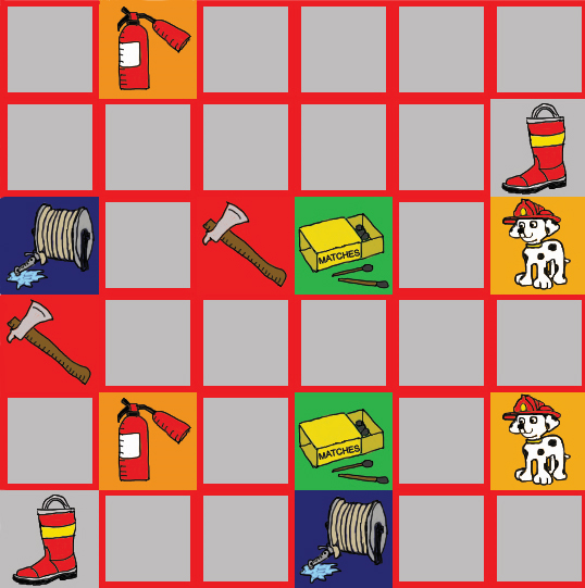 Firefighter Themed Memory Game #2